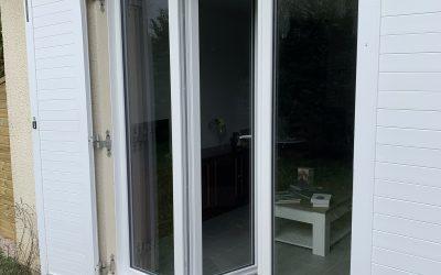 Changement d'une Menuiserie en PVC suite à l'achat d'une maison sur l'agglomération de Rouen.
